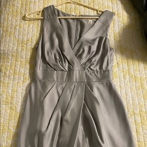 Size 2 Silver Formal Gown